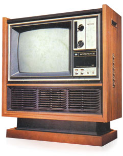toshiba science museum world 39 s first largely integrated circuit color television. Black Bedroom Furniture Sets. Home Design Ideas